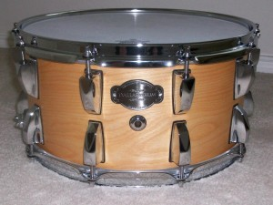 7x14 birch Dallas Drum 001